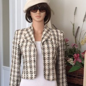Doncaster  woven silk jacket